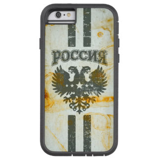 Russian 2 Headed Eagle Stained Tough Xtreme iPhone 6 Case