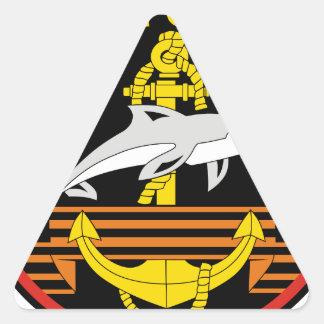 Russian 336th Belostok Marine Brigade, shoulder Triangle Sticker