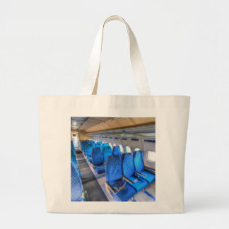 Russian Airliner Seating Large Tote Bag