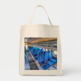 Russian Airliner Seating Tote Bag