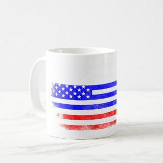 Russian American Flag   Russia and USA Design Coffee Mug