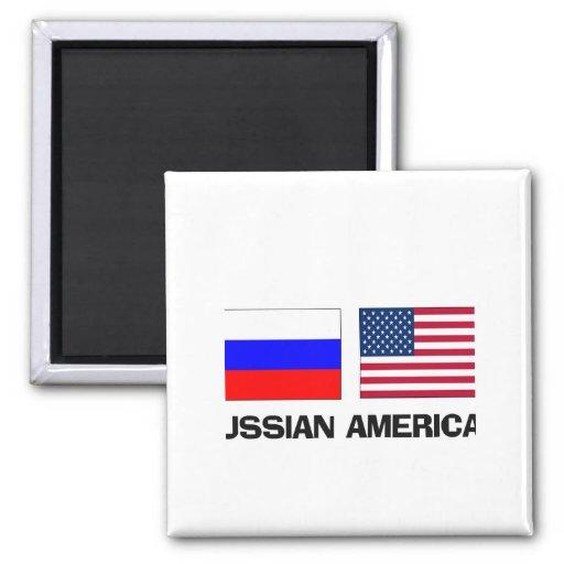 Russian American Fridge Magnets