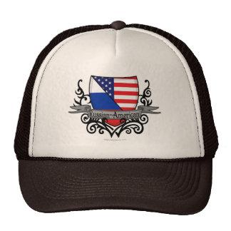 Russian-American Shield Flag Trucker Hat