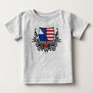 Russian-American Shield Flag Infant T-shirt