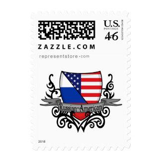 Russian-American Shield Flag Postage