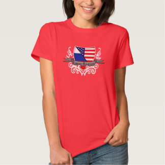 Russian-American Shield Flag T-shirt