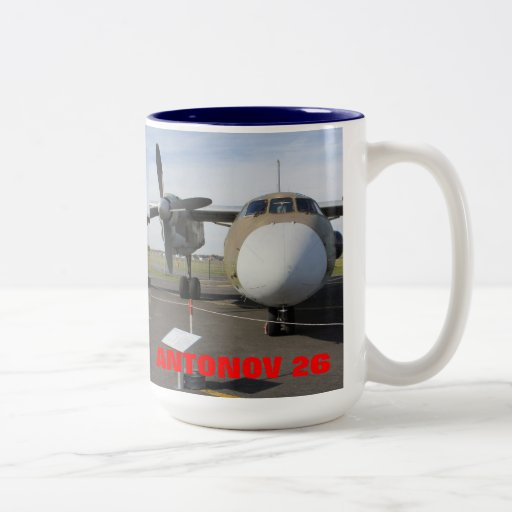 RUSSIAN ANTONOV 26 T COFFEE MUG