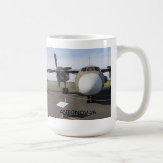 RUSSIAN ANTONOV 26 T CLASSIC WHITE COFFEE MUG