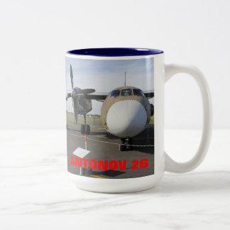 RUSSIAN ANTONOV 26 T Two-Tone COFFEE MUG