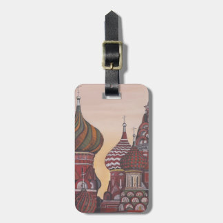 Russian Architecture Bag Tag