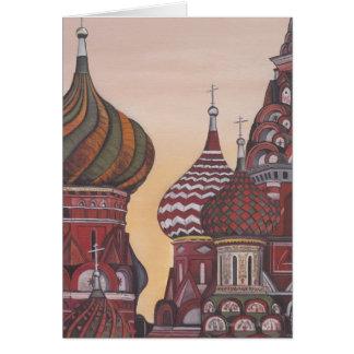 Russian Architecture Card