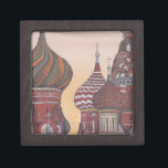 "Russian Architecture Gift Box<br><div class=""desc"">Painting depicting Russian architecture 