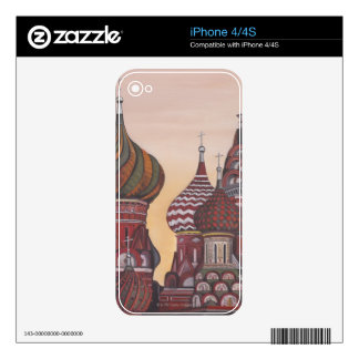 Russian Architecture iPhone 4 Decal