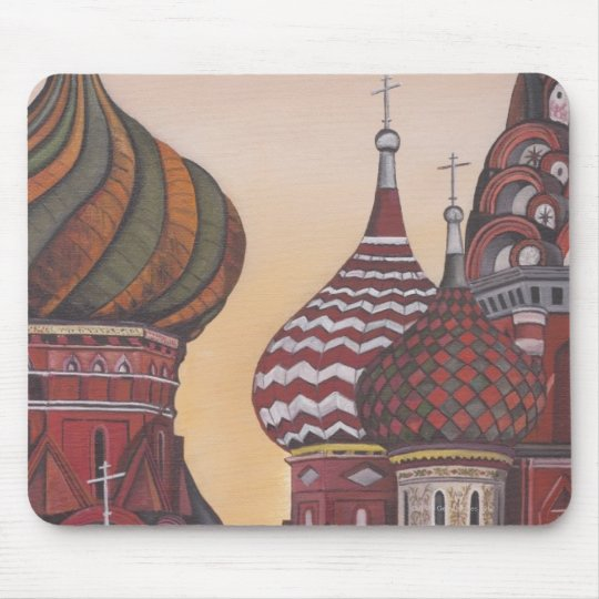 Russian Architecture Mouse Pad