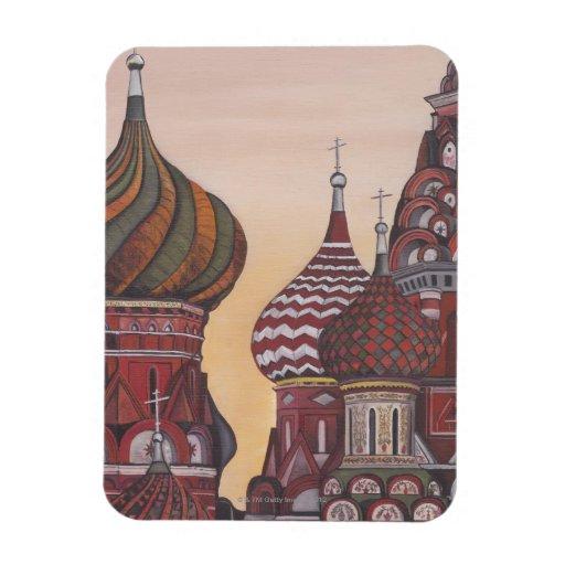 Russian Architecture Rectangular Photo Magnet