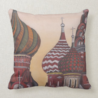 Russian Architecture Throw Pillow