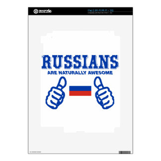 Russian are naturally awesome decal for iPad 2
