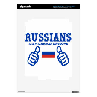 Russian are naturally awesome iPad 3 skin