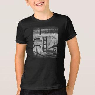 Russian Avant Garde Inspired Golden Gate Bridge Y T-Shirt