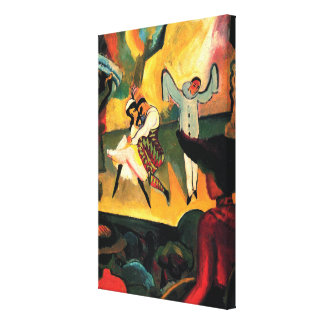 Russian Ballet August Macke Stretched Canvas Print
