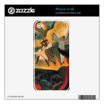 Russian ballet by August Macke iPhone 4 Decal