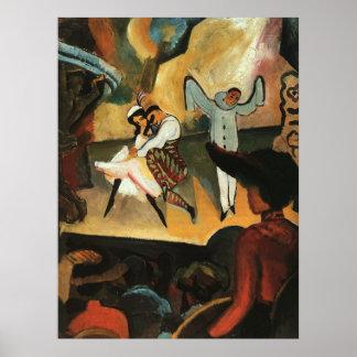Russian Ballet by August Macke Print