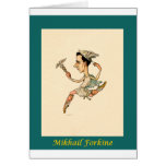 Russian Ballet Caricature ~ Mikhail Fokine Cards