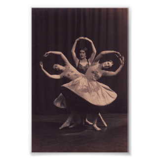 Russian Ballet Print