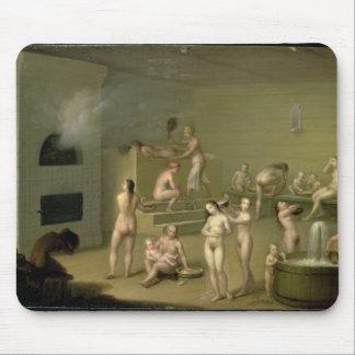 Russian Bath, 1825 Mouse Pad