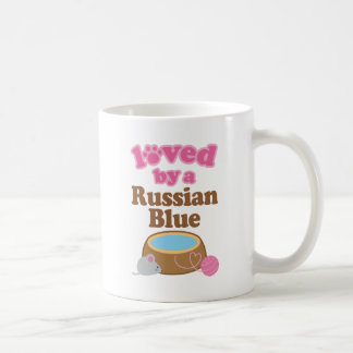 Russian Blue Cat Breed Loved By A Gift Coffee Mug