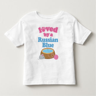 Russian Blue Cat Breed Loved By A Gift Toddler T-shirt