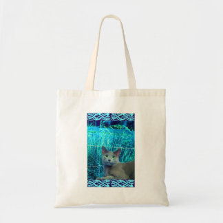 Russian Blue Cat Budget Tote Budget Tote Bag