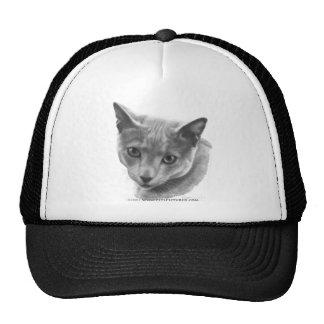 Russian Blue Cat Trucker Hat