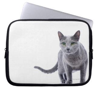 Russian Blue Cat Laptop Sleeve