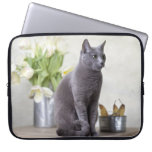Russian Blue Computer Sleeve