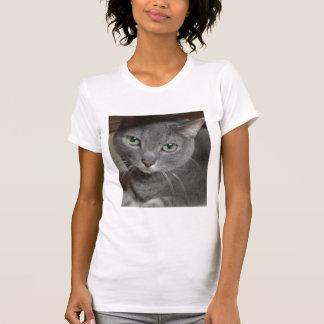 Russian Blue Gray Cat T-Shirt
