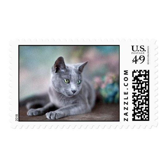 Russian Blue Postage