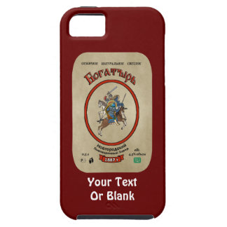 Russian Bogatyr Beer iPhone 5 Covers