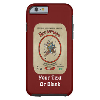 Russian Bogatyr Beer Tough iPhone 6 Case