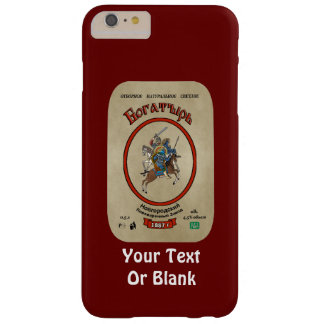 Russian Bogatyr Beer Barely There iPhone 6 Plus Case