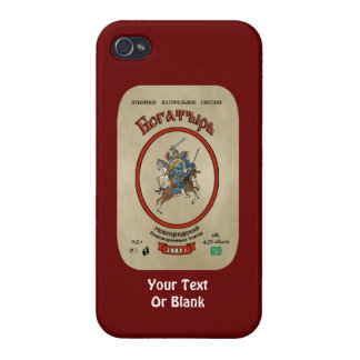 Russian Bogatyr Beer iPhone 4 Case