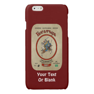 Russian Bogatyr Beer Glossy iPhone 6 Case