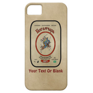 Russian Bogatyr Beer iPhone SE/5/5s Case