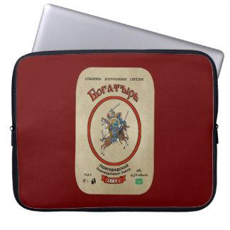 Russian Bogatyr Beer Laptop Sleeve