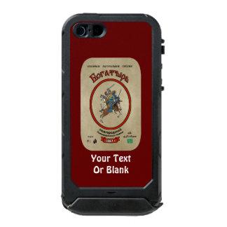 Russian Bogatyr Beer Waterproof iPhone SE/5/5s Case