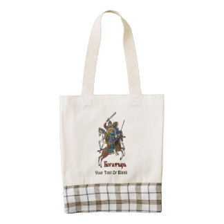 Russian Bogatyr Beer Zazzle HEART Tote Bag
