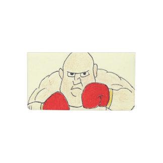 Russian Boxer Sketch Checkbook Cover