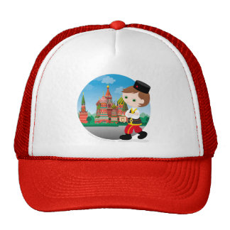 Russian boy trucker hat
