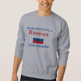 Russian Builds Character Sweatshirt