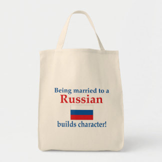 Russian Builds Character Tote Bag